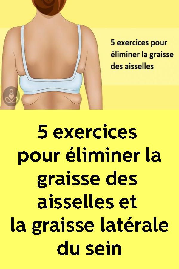 Exercices pour éliminer la graisse sous les aisselles - Fit People