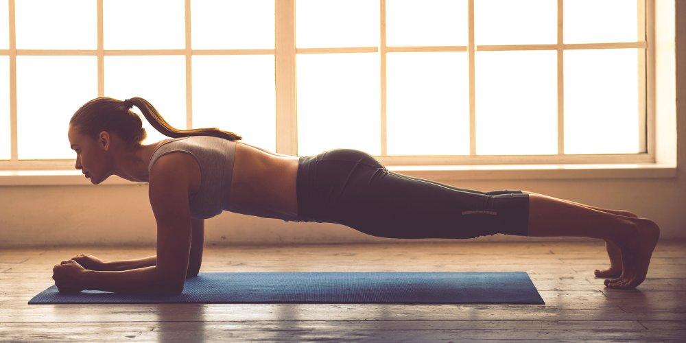 perdre du poids planche déquilibre
