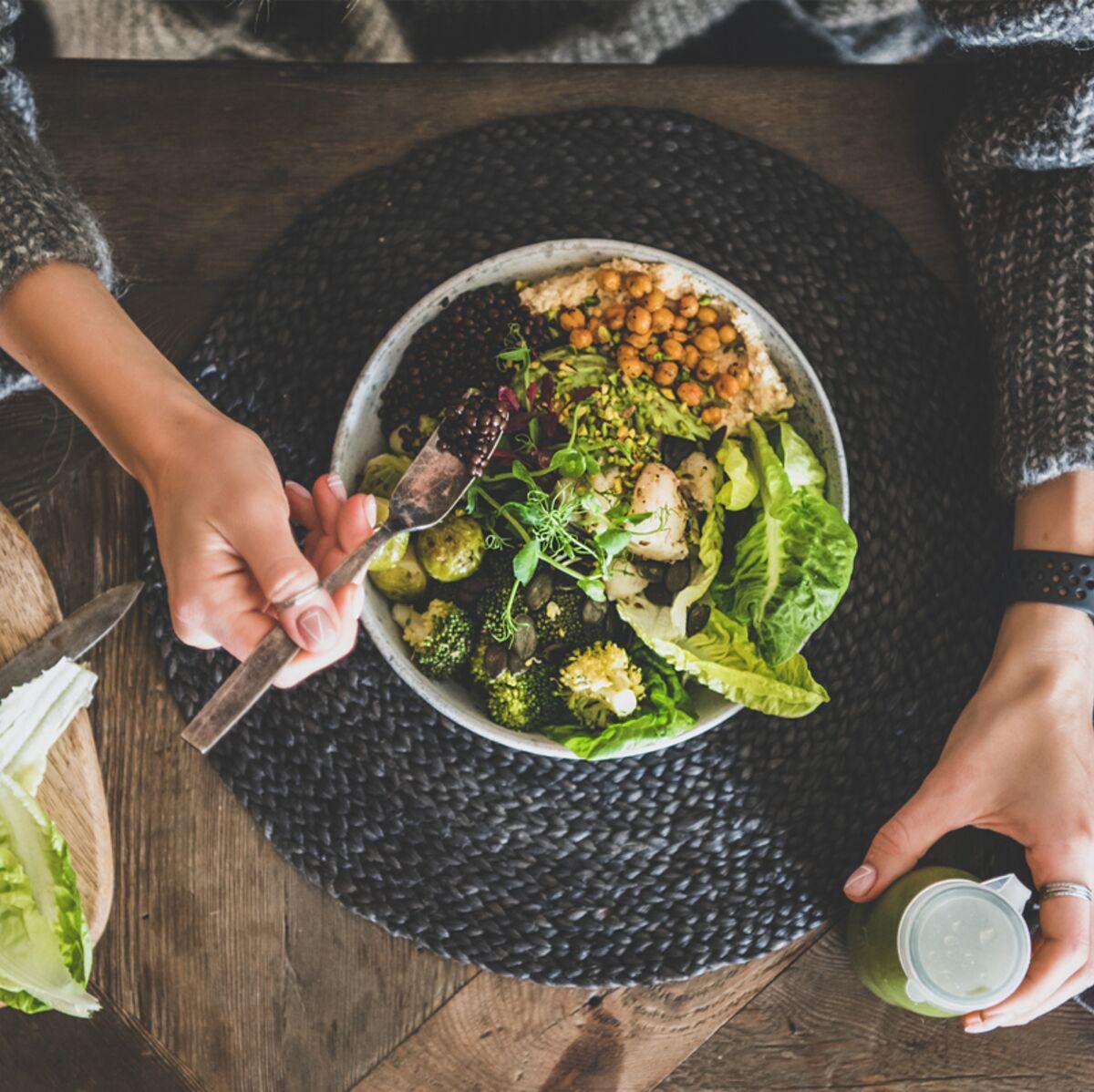 perdre du poids en coupant les portions en deux