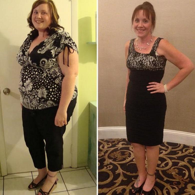Histoires de réussite de 12 semaines de perte de poids brûler un feu de graisse