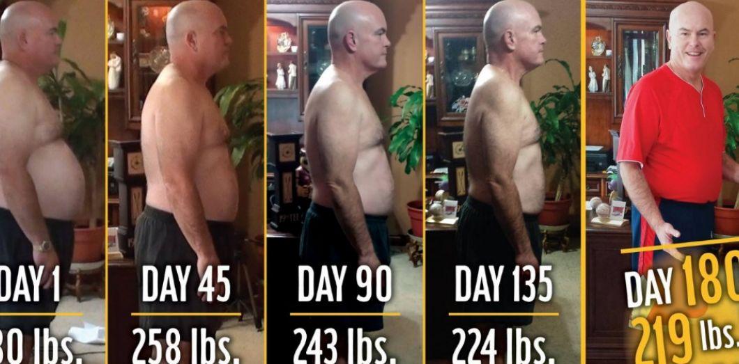 transformation de perte de poids gif