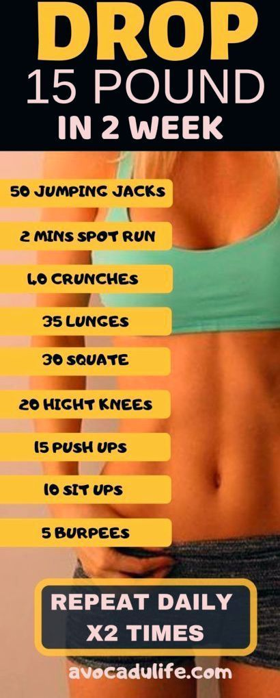 15 livres de perte de poids en 2 semaines
