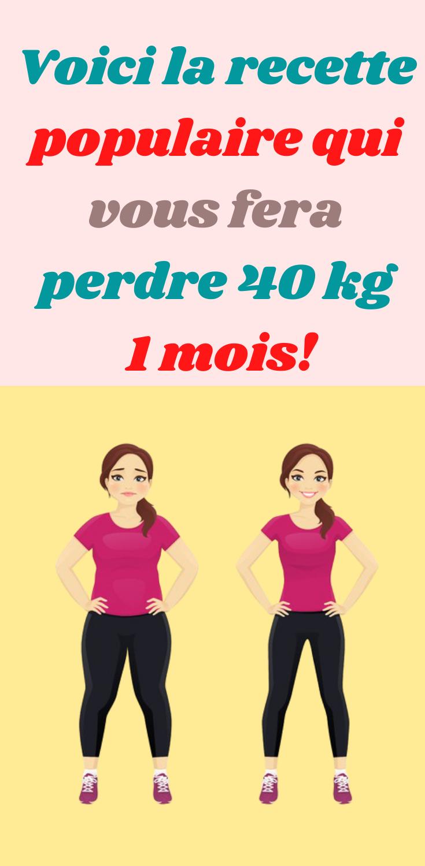 comment perdre de la graisse sur 40 femmes