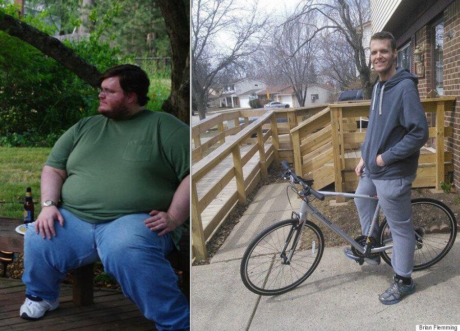 brian flemming perte de poids