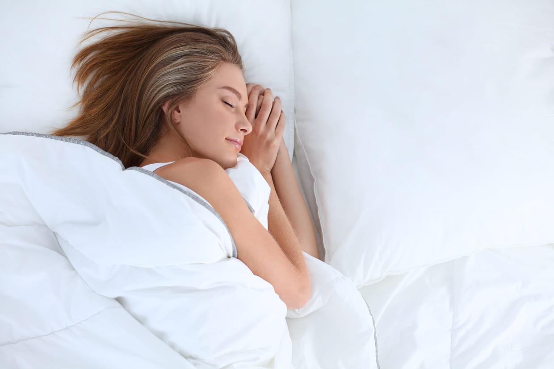 combien de poids perdons-nous en dormant