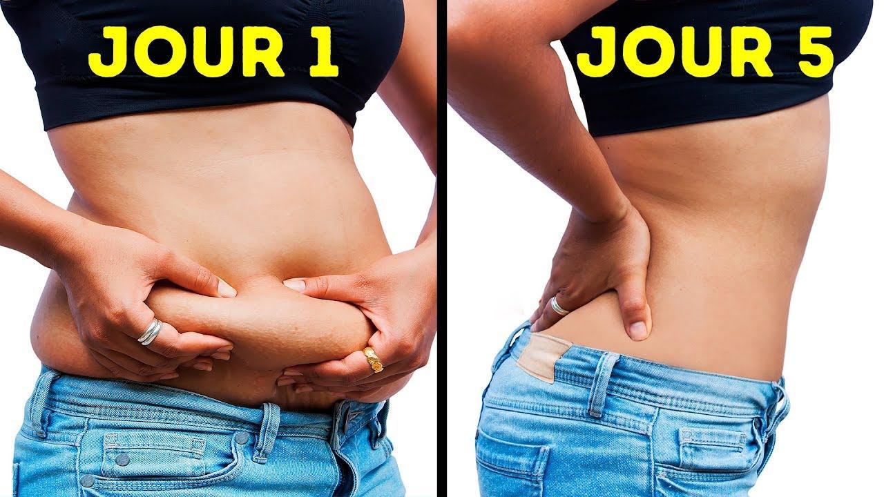 comment perdre du poids autour du bas de labdomen