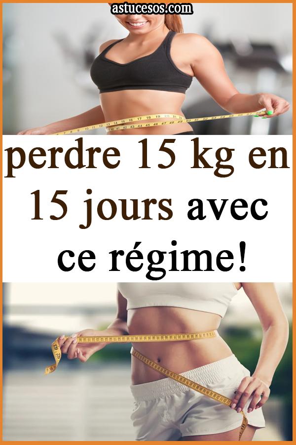 Perdre 3 kilos en 15 jours : régime perdre 3 kilos en 2 semaines