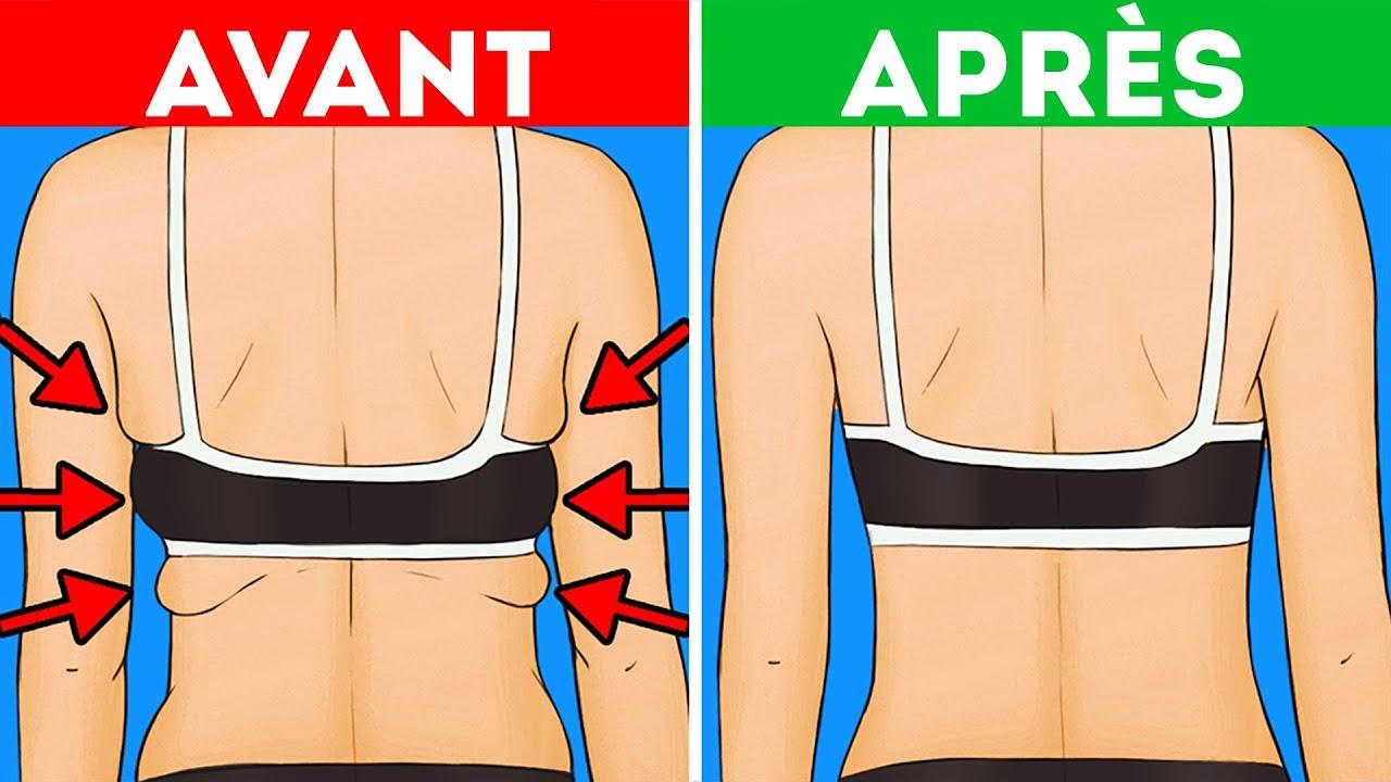 4 manières de perdre la graisse du haut du corps