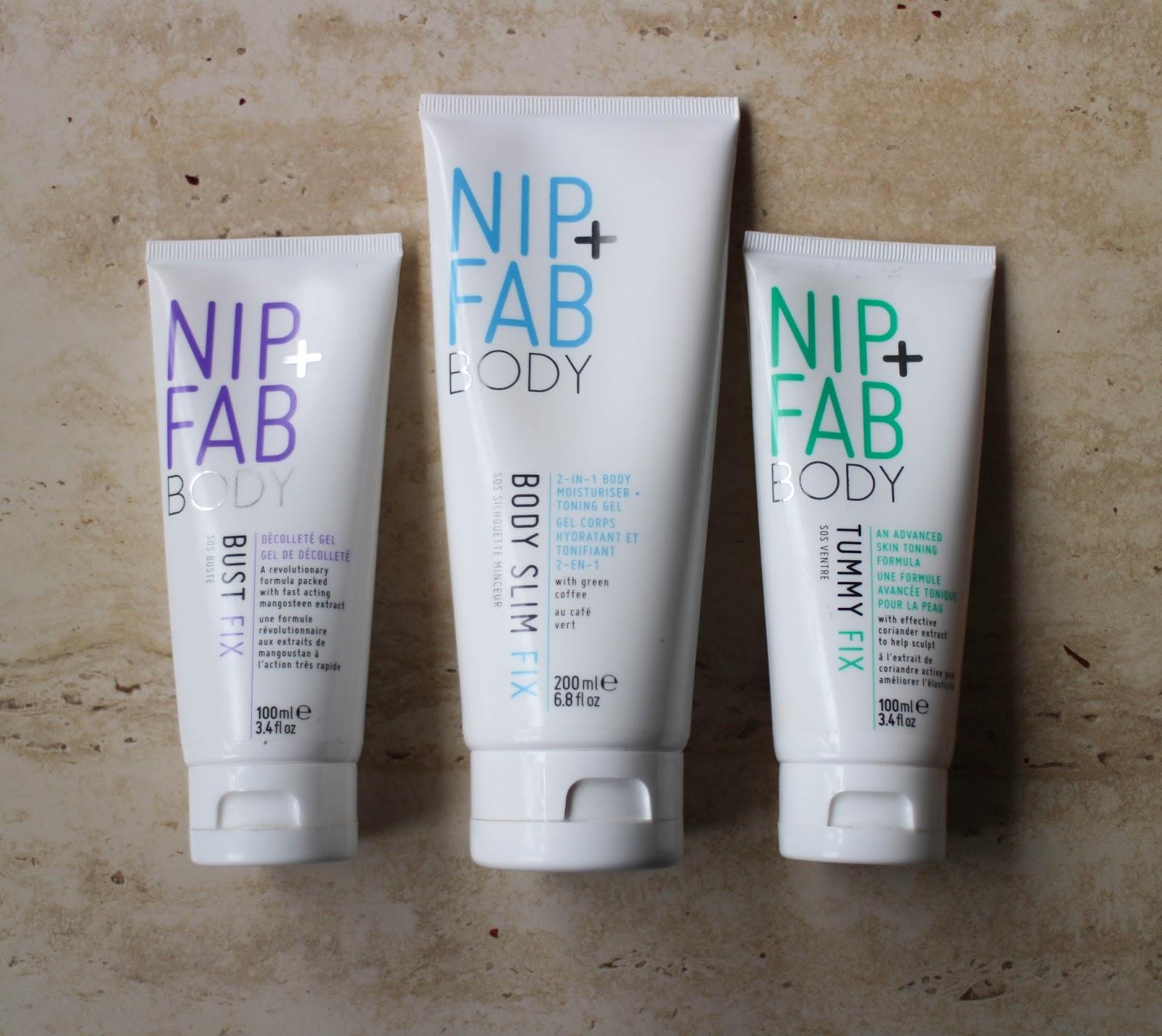 nip + fab body slim fix avis coups de brûleur de graisse