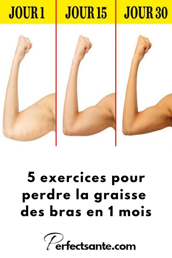 Comment perdre la graisse sous les bras ?